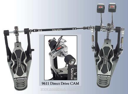 Gibraltar Intruder Doppel-Fußmaschine mit Direct Drive