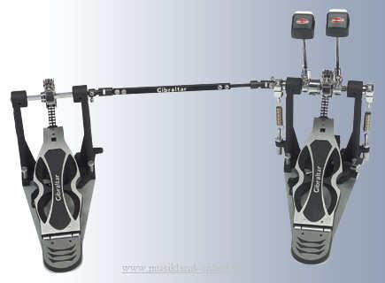 Gibraltar Intruder Doppel-Fußmaschine mit Doppelkette