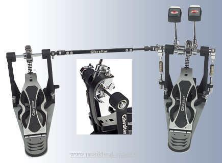 Gibraltar Intruder Doppel-Fußmaschine mit Strap Drive