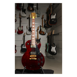 Gibson 2013 Les Paul Studio Gold Wine Red