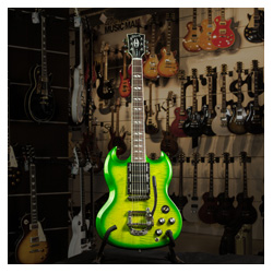 Gibson 2013 SG Deluxe Lime Burst