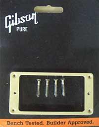 Gibson Humbucker Rahmen creme 3/8