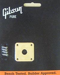 Gibson Jackplate Creme Plastic