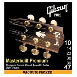 Gibson MB10 Masterbuilt Premium Phosphor Bronze .010-.047