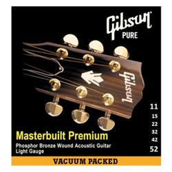 Gibson MB11 Masterbuilt Premium Phosphor Bronze .011-.052