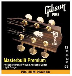 Gibson MB12 Masterbuilt Premium Phosphor Bronze .012-.053