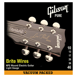 Gibson SEG-700ML Brite Wires Medium Light 011-050