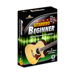 Gitarrero Gitarren Beginner Software
