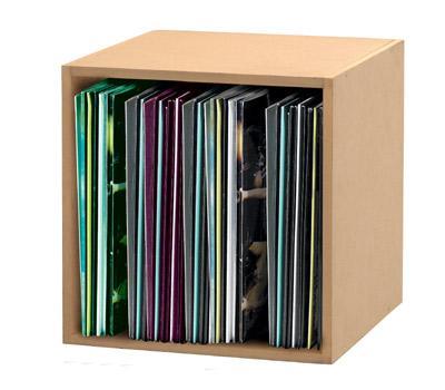 Glorious DJ 12'' Record Box 110 Beige