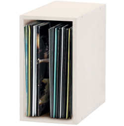 Glorious DJ 12' Record Box 55 White