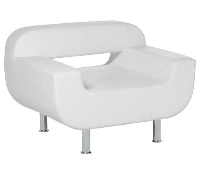 Glorious DJ Ibiza Lounge Chair white