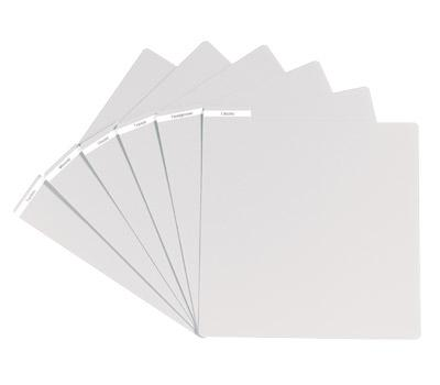 Glorious DJ Vinyl Divider White