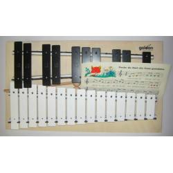 Goldon 11080 Metallophon 25 Klangplatten g2-g4