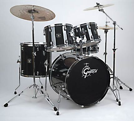 Gretsch Blackhawk Standard Set BHF-625 black inkl. HW