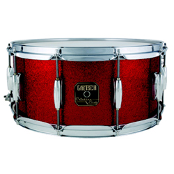 Gretsch CC 6514SFH Snare Drum Red Sparkle