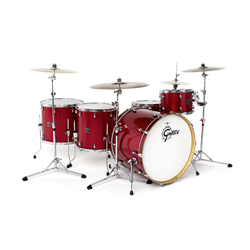 Gretsch Catalina Club CC E825 Drumset Red Sparkle