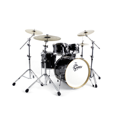 Gretsch Catalina Club CC F605 Drumset Ebony Gloss