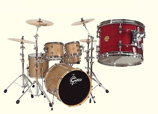 Gretsch New Classic Drumset Deep Cherry Gloss