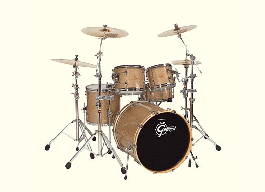 Gretsch New Classic Drumset Vintage Glass Nitron