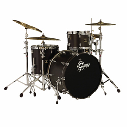 Gretsch RN R643W Renown Maple Drumset Satin Black