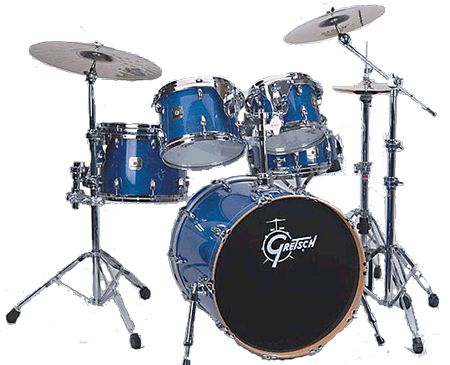 Gretsch Renown Maple Jazz Set RMF-805 blau