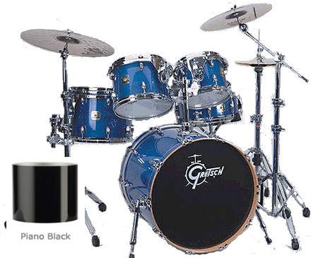 Gretsch Renown Maple Standard Set RMF-825 Black