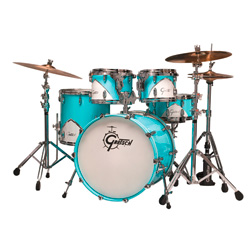 Gretsch Renown RN 57 5PC Drumset Motor City Blue