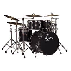 Gretsch Renown RN E824Q Drumset Satin Black