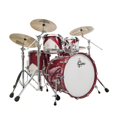 Gretsch Renown RN 57 5PC Drumset Motor City Red