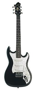 Hagstrom F-300 BK E-Gitarre
