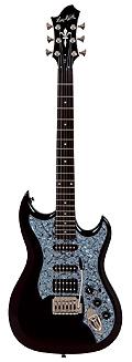 Hagstrom F-301 BK E-Gitarre