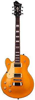 Hagstrom Lefthand Swede Gold E-Gitarre