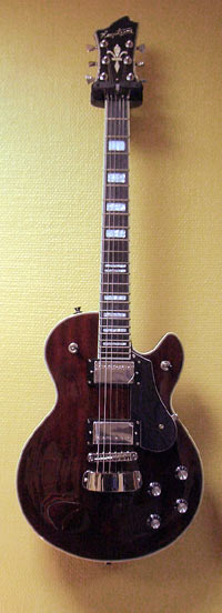 Hagstrom Swede Natural Mahogany Gloss