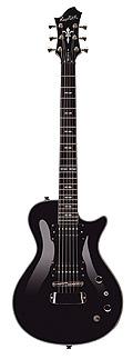 Hagstrom Ultra Swede Black E-Gitarre