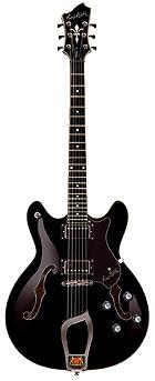 Hagstrom Viking Black E-Gitarre
