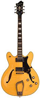 Hagstrom Viking Deluxe Natural E-Gitarre
