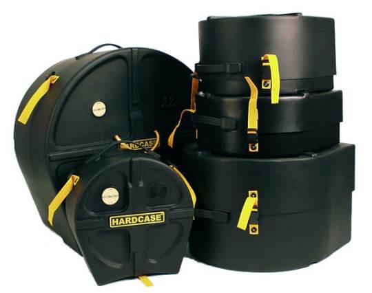 Hardcase Hardcase Drum Case Set HSTANDARD