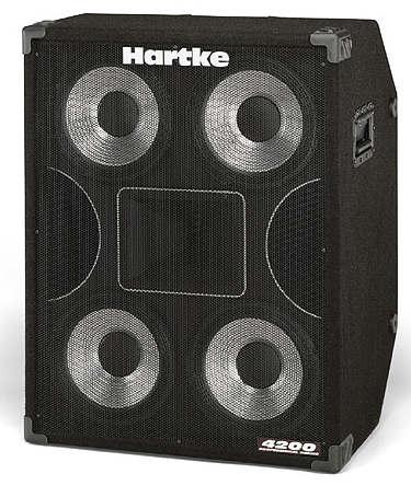 Hartke 4200 Professional Bassbox 4x10``