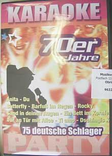 Hildner 140 Deutsche Schlager der 70er Jahre - Karaoke CD