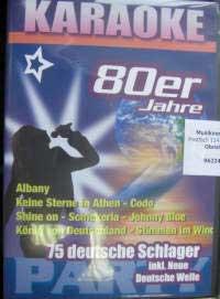 Hildner Karaoke CD - Deutsche Schlager der 80er Jahre
