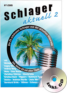 Schlager aktuell Nr. 2 inkl. CD