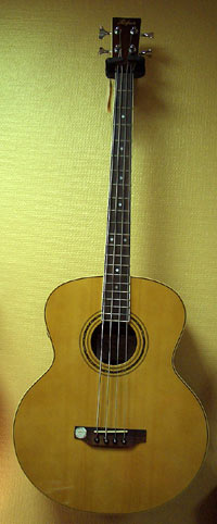 Höfner HA-B01E Acoustic Bass 4-EQ