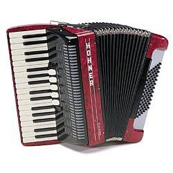 Hohner Amica III 72 rot