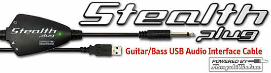 IK Multimedia Stealth Plug USB Gitarre / Bass Interface