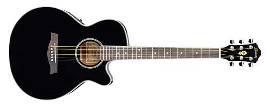 Ibanez AEG8E-BK Westerngitarre