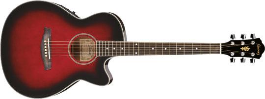 Ibanez AEG8E-TRS Westerngitarre