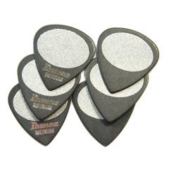 Ibanez BPA16MS-BK Pick SET Sand Grip Medium