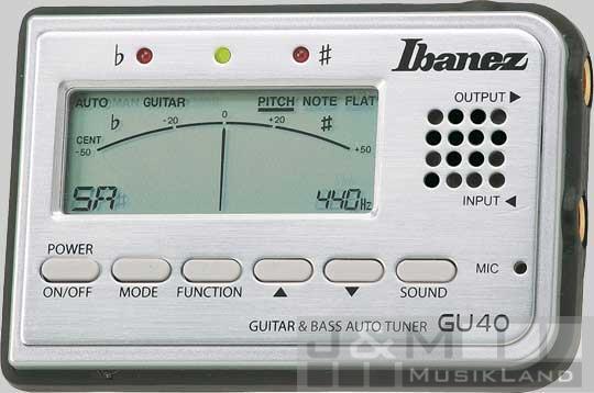 Ibanez GU-40 SL Stimmgerät