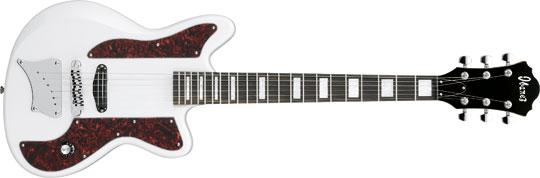 Ibanez ORM-1 WH Omar Rodriguez-Lopez E-Gitarre