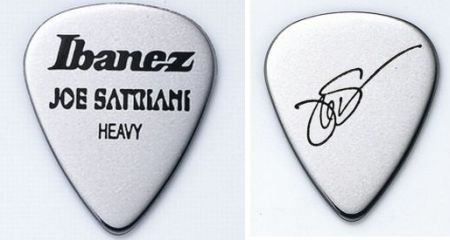 Ibanez Pick SET Joe Satriani silber